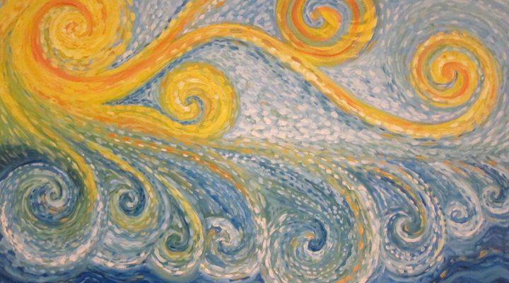 Spirals Painting